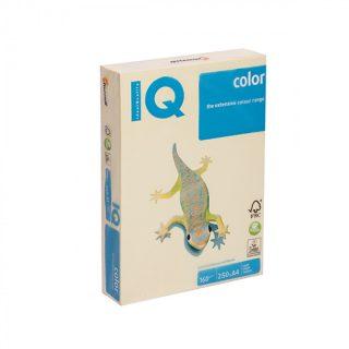 Papier kopírovací. A4,160g YE23 pastelová žltá/250 listov