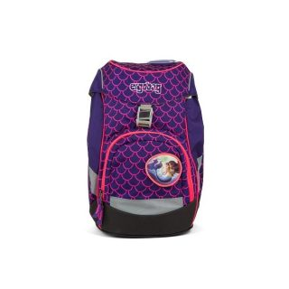 Školská taška Ergobag Prime Lumi Edition - Pearl DiveBear