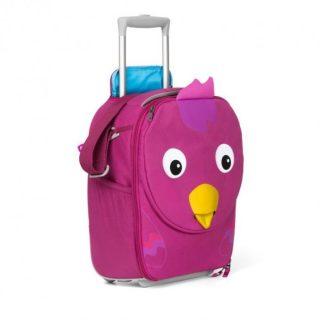 Detský cestovný kufrík Affenzahn Trolley Vtáčik Bella