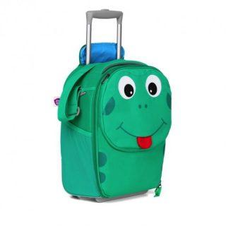 Detský cestovný kufrík Affenzahn Trolley Žabiak Finn