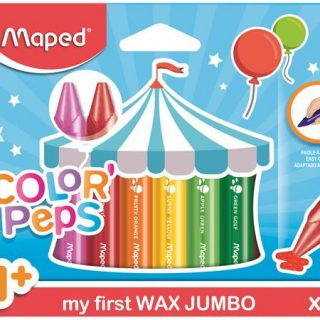 MAPED/ 12 Color Peps Maxi Wax