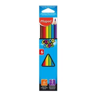 Ceruzky MAPED/ 6 3HR farebná súprava