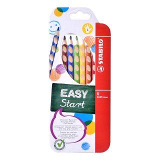 Ceruzky STABILO EASYcolors/ 6 3HR ľavák