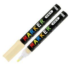Popisovač M&G Acrylic Marker 2 mm akrylový, Light Orange