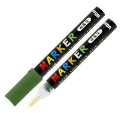 Popisovač M&G Acrylic Marker 2 mm akrylový, Deep Olive