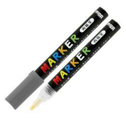 Popisovač M&G Acrylic Marker 2 mm akrylový, Dark Grey