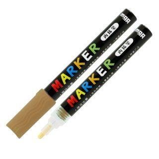 Popisovač M&G Acrylic Marker 2 mm akrylový, Gold