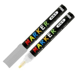 Popisovač M&G Acrylic Marker 2 mm akrylový, Silver