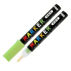 Popisovač M&G Acrylic Marker 2 mm akrylový, Yellow Green