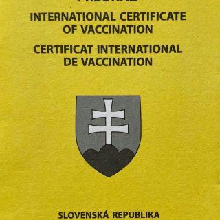 Medzinarodný očkovací preukaz