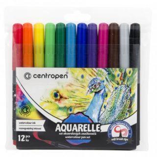 Aquarelové farby, Rollery - fixky popisovače s guľôčkovým hrotom